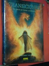 ILLUSTRATION BOOK-TRANSICIONES- el arte todd lockwood- CARTONATO-NORMA EDITORIAL