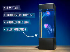 Jellyfish Tank Mood Light Aquarium Style Sensory Autism Lava Lamp LED Desk Lamp