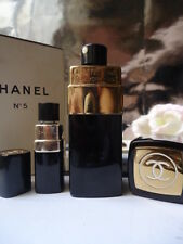 CHANEL No5 Rare Vintage 1950s 7ml Parfum & 1.5oz Cologne New Near Mint Box Set