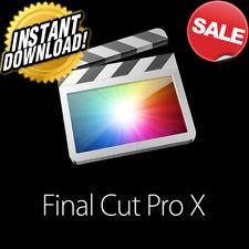 Final Cut Pro X 10.4.10 for Mac Instant Download  SALE.