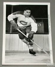 Original Mid-50's Dollard St.Laurent Canadiens Photo
