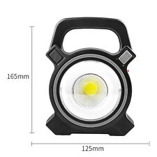 Rechargeable Work Light Solar Handheld Searchlight Lantern Outdoor Newest