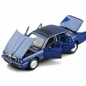 1/32 Scale Jaguar XJ6 Die-cast Model Car Toy Collection Sound Light Kids Gifts