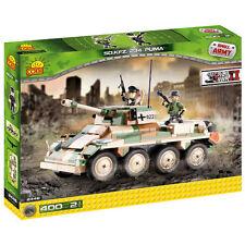 COBI WW2 Puma Tank 400 pezzi costruzione mattoni 2446 Esercito Tedesco