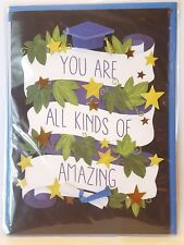 """PAPYRUS Graduation """"You Are All Kinds of Amazing"""" 3D Greeting Card"""