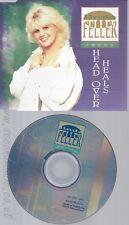 CD--LINDA FELLER -  - - SINGLE -- HEAD OVER HEALS