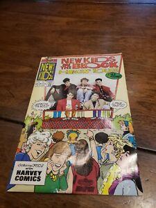 New Kids on the Block Hangin Tough Comic Book #1 First Issue Harvey Comics NKOTB