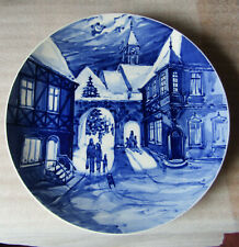 Meissen Christmas plate 1975 Wall plate 26 cm......
