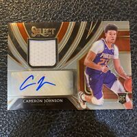 Cameron Johnson 2019-20 Prizm Select Rookie RC Patch Auto RPA Suns #/199