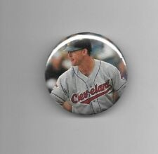 "Jim Thome 2018 Hall of Fame Cleveland Indians 2 1/4"" Baseball Button"
