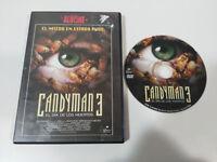 CANDYMAN 3 EL DIA DE LOS MUERTOS DVD + EXTRAS ESPAÑOL ENGLISH REGION 2 TERROR