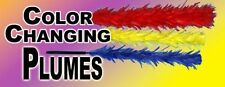 Color Changing Plumes - Three in One - 3 In 1 - Plumes Change Colors!