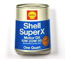 Shell USA Spielkarten Karten Kartenspiel Super X Motor Öl Dose Motiv