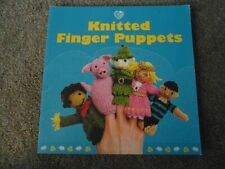preowned: KNITTED FINGER PUPPETS by SUSIE JOHNS - GREAT KNITTING PATTERN BOOK
