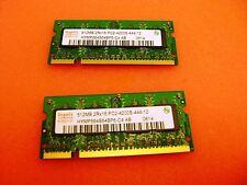 Dell Latitude D810 Laptop 1GB (2x 512MB) 533Mhz Memory RAM * HYMP564S64BP6-C4 AB