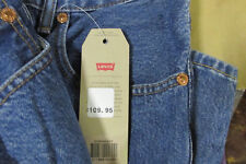 LEVI'S 504 STONEWASH Regular Straight Jeans, Authentic BRAND NEW (005040207)