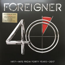Foreigner - Hits for Forty Years - NEW CD (sealed)  Greatest Hits / Best Of