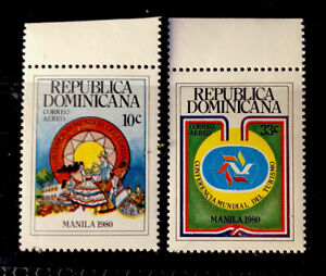 Dominican Republic Stamps Sc C312-C313 MNH