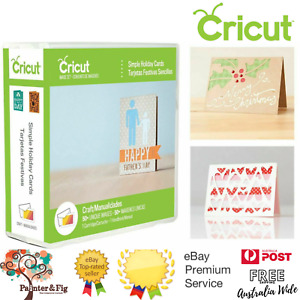 Cricut Simple Holiday Cards Cartridge - 48 Cards, 2 Envelopes, Mother's Day, Dad