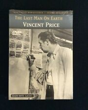 The Last Man On Earth DVD: Vincent Price (1964, Genius Entertainment) Brand New