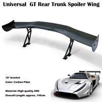 Universel  3D GT Style JDM Fibre de Carbone Aileron Arrière Léger Wing Becquet