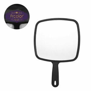 Women Makeup Mirror Handheld Salon Barbers Hairdressers Mirror with Handle
