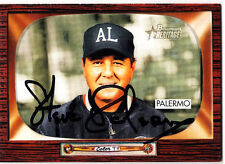 62411d8b700eb MLB UMPIRE Steve Palermo signed 2004 Bowman Heritage card autographed
