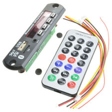 Wireless Bluetooth 12V MP3 WMA Decoder Board Audio Module USB TF Radio For Car#C