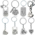 Heart Teachers Gifts Keyrings Pendants Charm Keychain For Teacher Silver Jewelry