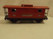 Lionel standard gauge #217 red caboose