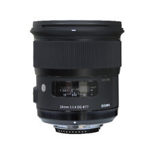 Sigma 24mm f/1.4 DG HSM Art Lens for Nikon F Mount Cameras 401306