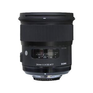 Sigma 24mm f/1.4 DG HSM Art Lens for Nikon F Mount Cameras 401306
