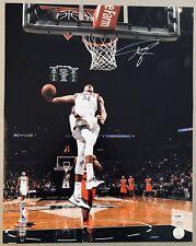 Giannis Antetokounmpo signed Bucks autographed NBA auto 16x20 photo PSA/DNA COA