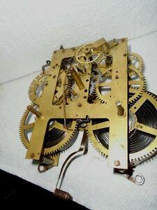 Antique-Ingraham- Kitchen/Shelf Clock Movement-Ca.1910-To Restore-#F278