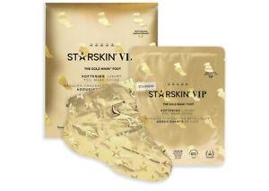 STARSKIN VIP The Gold Foot Mask 16g, Softening Luxury Foil Mask Socks