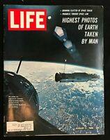 LIFE MAGAZINE - Aug 5 1966 - PHOTOS FROM SPACE / Kenyatta / Merton / Mao Zedong