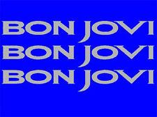 3 Stk. Bon Jovi Aufkleber VW-Golf