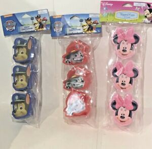 Easter Eggs Treat Containers~ Minnie Mouse Pink, Paw Patrol Blue & Red