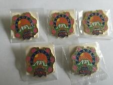 5 Lot 1993 NFL Super Bowl XXVII Dallas Cowboys Football WinCraft Lapel Pins NOS