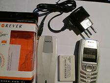 Nokia 6610 argento/grigio chiaro simfrei SUPER OK Gebr 66104
