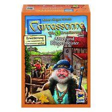 "Hans im Glück 48257 ""Carcassonne - Abbey and Mayor"" Expansion 5 Strategic Game"