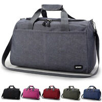 Men Women Travel Large Duffel Bag Carry On Hand Luggage Duffle Shoulder Bag