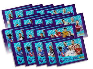 20x Panini Premier League 2021 Sticker Collection Packs (20 Sticker Packs)