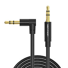 Premium AUX Cable 3.5mm Right Angle Audio Male to Male Auxiliary Stereo Cord
