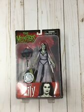DIAMOND SELECT THE MUNSTERS ACTION FIGURE HOT ROD LILY SEALED CB