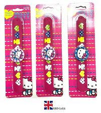 58b1969c22 HELLO KITTY SNAP BANDS Kids Wrist Snap Band Stocking Filler Christmas Toy  Gift