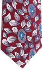 "Royal Knight Men's Tie 56"" X 4"" Multi-Color Geometric"