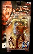 McFarlane Toys Movie Maniacs Super Bloody Freddy Krueger Action Figure New 1998
