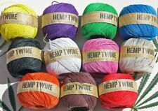 Unbranded Hemp Jewellery Making Cords