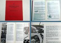 Mercedes Benz170Sb W191 Betriebsanleitung Stand 1956 Ausgabe 1966